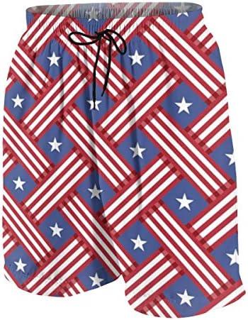 キッズ ビーチパンツ アメリカ合衆国の国旗 サーフパンツ 海パン 水着 海水パンツ ショートパンツ サーフトランクス スポーツパンツ ジュニア 半ズボン ファッション 人気 おしゃれ 子供 青少年 ボーイズ 水陸両用