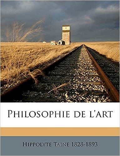 Philosophie l'Art Volume
