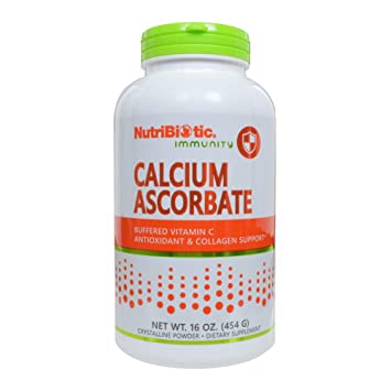 Amazon.com: nutribiotic Ascorbato de Calcio en polvo, 16 ...
