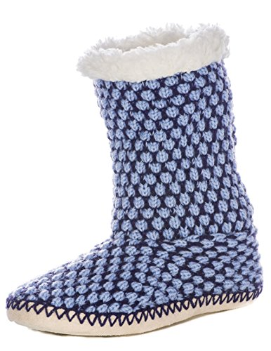 Mount Boot Noble Blue Slippers Indoor Womens Navy Oxford gZqpz
