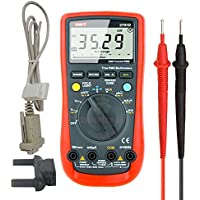 Uni-t Ut61D Lcd Back Light 6000 Count Auto Range Digital Multi-meter Rs232c True RMS AC/DC Voltage Current Resistance Capacitance Tester with Diode Testing,Continuity Buzzer,Relative Measurement
