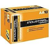 Duracell 10 X AA Industrial Alkaline Battery - Orange