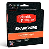 Scientific Anglers WF-12-F Sharkwave SWT Fly Lines with Loops, Yellow/Turtle Grass/Horizon