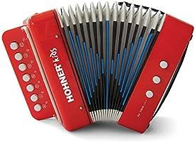 Hohner acordeón de uc102r juguete musical para niños efecto
