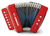 Hohner Kids UC102R Musical Toy Accordion Effect (3+ years)