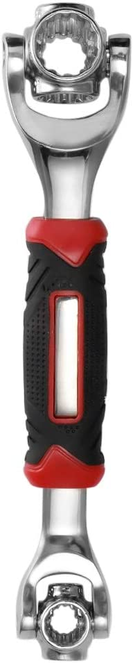 Konesky - Llave de vaso multifunción con 48 herramientas en una llave de tigre que funciona con pernos de spline Torx métrico
