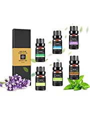 Essential Oils 100% Pure Therapeutic Grade Oils kit- Top 6/12 Aromatherapy Oils Gift