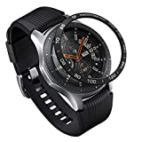 Ringke Bezel Styling for Galaxy Watch 46mm / Galaxy Gear S3 Frontier & Classic Bezel Ring Adhesive Cover Anti Scratch Aluminium Protection Tachymeter [Aluminum] for Galaxy Watch Accessory GW-46-07