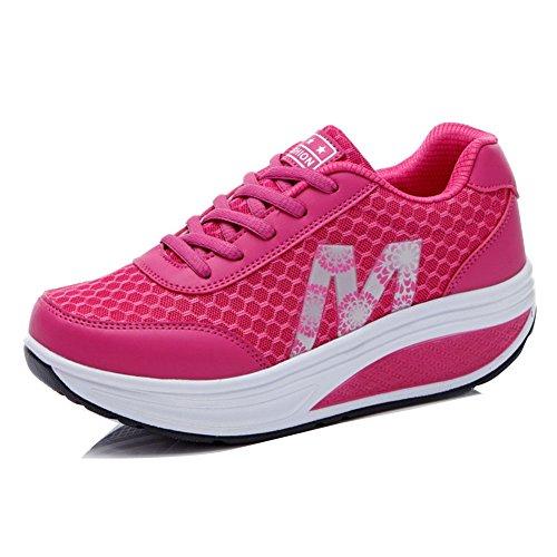 Atlético Sacudir Rose Mujer Zapatillas Aptitud Zapatos Chicas Señoras 71q61
