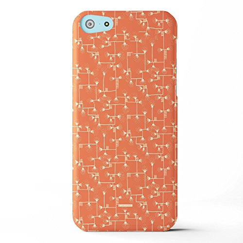 Koveru Back Cover Case for Apple iPhone 5C - Tangerine Connections
