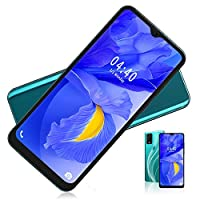 Dual Card Dual Standby Smart Phone, 6.7 Inch 6 + 64G Face Smartphone Fingerprint Unlocked, Quad Core Android 9.1 Phone with 128G Memory Card(EU)