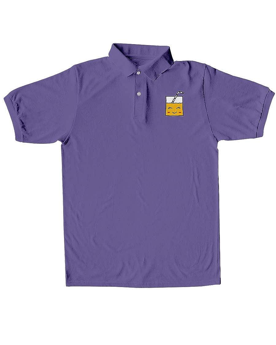 Luis Dubons TS Smiley Juice Classic Polo Purple L
