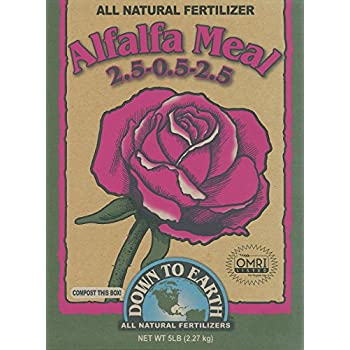 Down To Earth 5-Pound Alfalfa Meal 2.5-0.5-2.5 07805