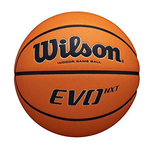 Wilson Evo NXT Indoor Game Basketball - Official 29.5""