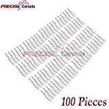 PRECISE CANADA: SET OF 100 DENTAL EXTRACTING FORCEPS #MD1 DENTAL EXTRACTION INSTRUMENTS