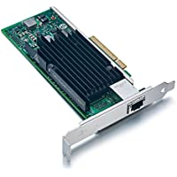 For Intel X540-T1, 10GbE Converged Network Adapter(NIC), X540 Chipset, PCI-E X8, Single RJ45 Copper Port, ipolex