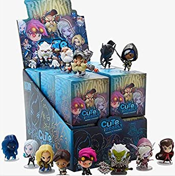 ACTIVISION Blizzard Overwatch Backpack Hangers Mystery Bags Series 2 Display (24) Keyrings: Amazon.es: Videojuegos