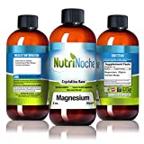 NutriNoche Liquid Magnesium Supplement - 30 PPM of Nano Sized Magnesium Particles Absorbed at a Cellular Level - Colloidal Minerals