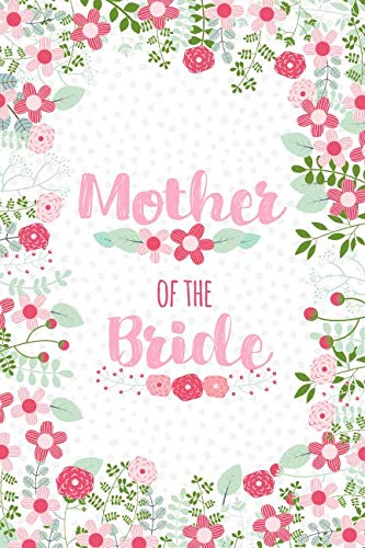 Best deals on list of spring wedding flowers products mother of the bride cute floral notebook blank lined journal keepsake diary to write wedding party ideas lists and notes mightylinksfo