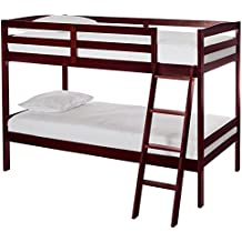 Dream On Me Taylor Twin Over Bunk Bed, Cherry