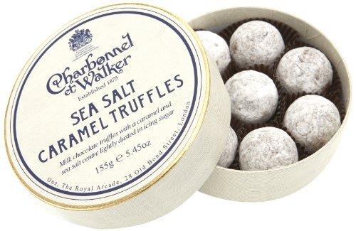 Charbonnel et Walker - Milk Sea Salt Caramel Truffles 4.2 oz by Charbonnel et Walker by Charbonnel et Walker