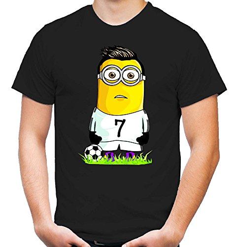 Ronaldo Minion T-Shirt   Fussball   Ultras   schwarz
