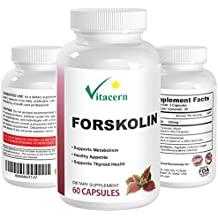 Pure Forskolin Extract 250mg per serving 20% standardized | Get Super Trim with Natural Coleus Forskohlii for weight loss – it has no side effects.125mg per serving (60 capsules) |