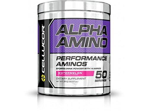 Cellucor, Alpha Amino Performance BCAAs, Watermelon, 50 Servings