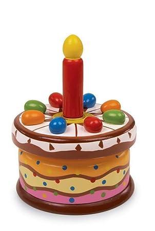 Spieluhr Geburtstagstorte Holzspielzeug Small Foot Company 2483