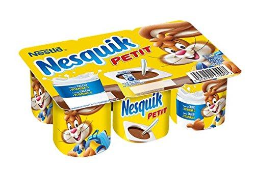 Nesquik, Postre lácteo (Petit) - 6 de 60 gr. (Total 360 gr.): Amazon.es: Alimentación y bebidas
