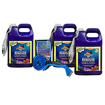 Roman 209934 3 gal Liquid Spray Wallpaper Removal Kit, Large Room