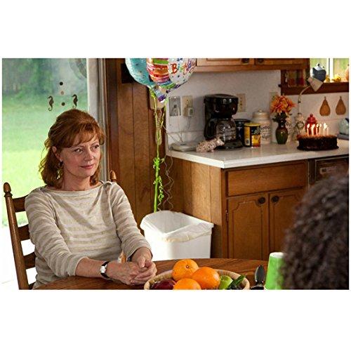 Jeff Who Lives at Home Susan Sarandon as Sharon sitting at kitchen table 8 x 10 Inch Photo