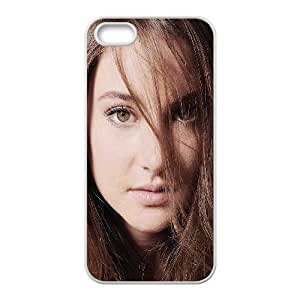 iPhone 5 5s Cell Phone Case White hd28 shailene woodley actress film K3W1WO