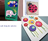MOSYPT 3PCS Circle Paper Punch Sets 3 Size