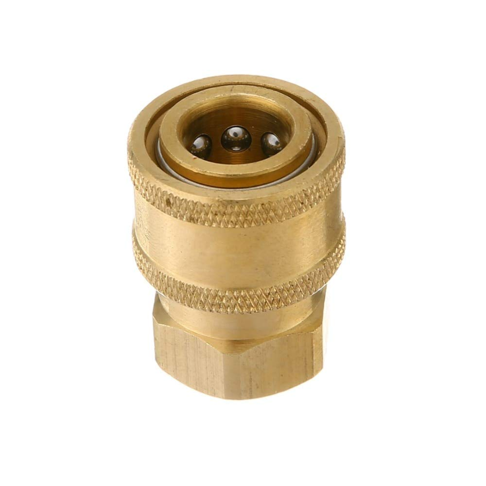 VHLL 1/439;39; Pressure Washer Hose Connector Adaptor to 1/4 Female Garden Watering Sprayer Tools Faucets Connect Fitting Pipe New