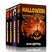 HALLOWEEN BOOK BUNDLE (4 Books in 1): Spooky Stories for Kids and Halloween Jokes (Spooky Halloween Stories 2)