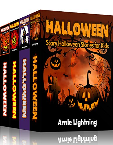 HALLOWEEN BOOK BUNDLE (4 Books in 1): Spooky Stories for Kids and Halloween Jokes (Spooky Halloween Stories 2) -