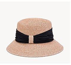 7a52d667d045d El Nuevo Sombrero De Paja Femenino Gorro De Verano Gorra De Protección  Solar Sombrero Plegable Sunhat Beach Sombrero De Mujer (Color   1)   Amazon.es  Hogar