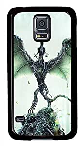 Forest Guardian Black Hard Case Cover Skin For Samsung Galaxy S5 I9600