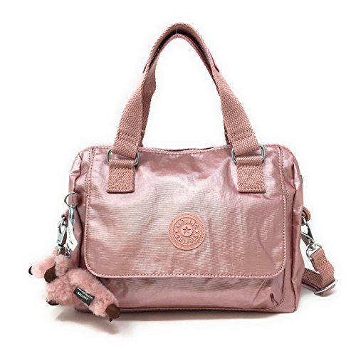 Convertable Bag (Kipling Zeva Convertable Crossbody Handbag Icy Rose Metallic)