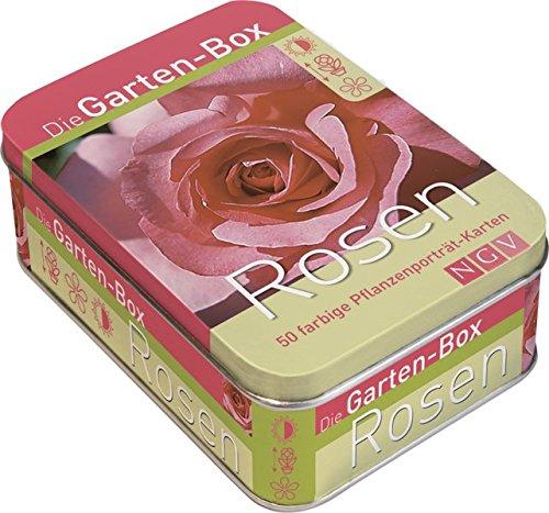 Die Gartenbox - Rosen: 50 farbige Pflanzenporträt-Karten