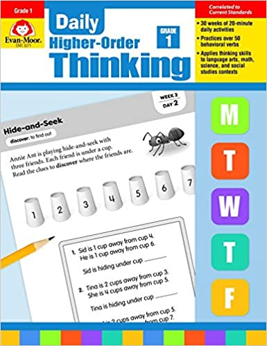 Evan-Moor Daily Higher Order Thinking Grade 1 Teacher s Edition