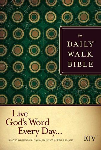 The Daily Walk Bible KJV