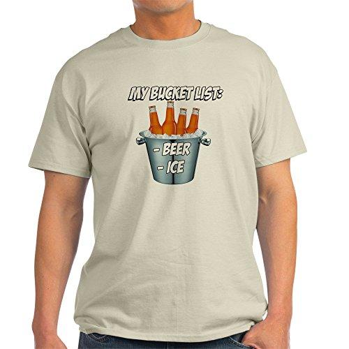 CafePress Bucket List Light T-Shirt - 100% Cotton - Summer Bucket Fun List
