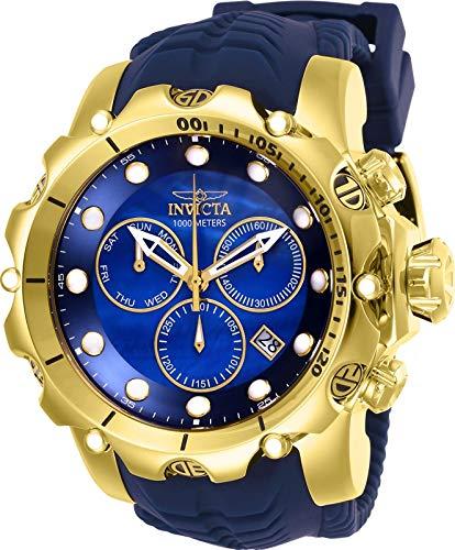 - Invicta Men's 52mm Venom Sea Dragon Gen II Swiss Quartz Chronograph Strap Watch (26245)