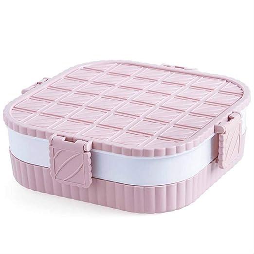 Caja de almacenamiento apilable con 5 rejillas, caja de golosinas ...