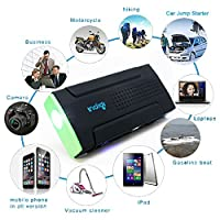 Indigi Smallest Lightest Powerful Portable Emergency Car Vehicle Jump Starter Power Bank Station