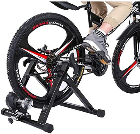 Bnoukyue Bike Trainer Stand Magnetic Bicycle Stationary Stand for Indoor Bike Exercise Supporting Structure Bike Fixture