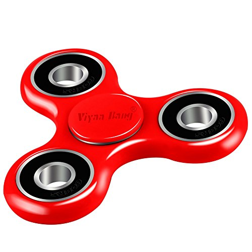 Spinner Viyaabang Tri Spinner Perfect Anxiety Red