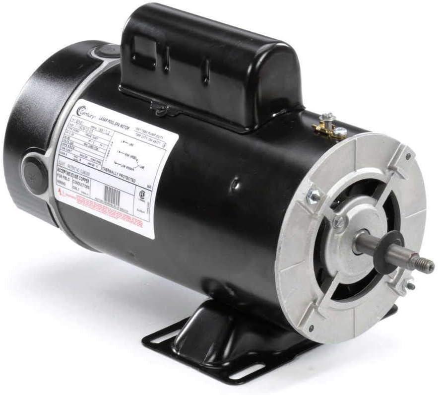2 hp 3450/1725 RPM 48Y Frame 230V 2-Speed Pool & Spa Electric Motor Century # BN61